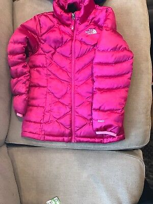 c3ddb8408 THE NORTH FACE 550 Down Puffer Jacket Coat /Pink Girls Size Medium 10/12EUC