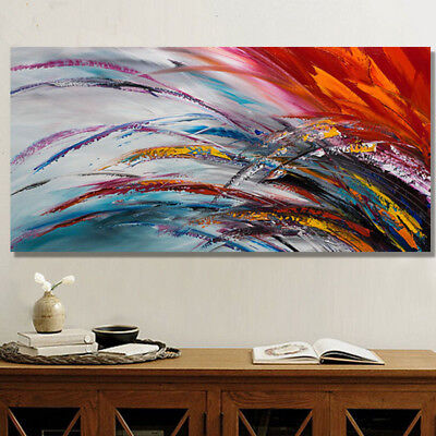 Modern Abstract Scenery HandPainted Oil Painting Art Home Decor Wall On Canvas