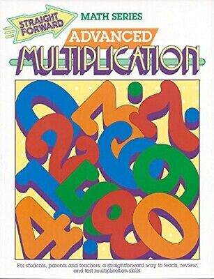 Advanced Multiplication (Advanced Straight Forward Math) - New Book Collins, Sta