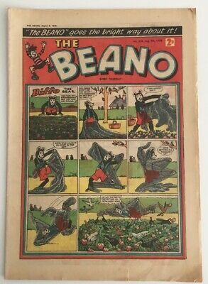 The Beano comic No.838 August 9th 1958