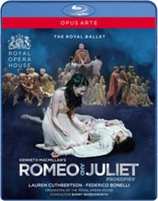 Romeo and Juliet: Royal Opera House (Wordsworth) Blu-ray NUEVO