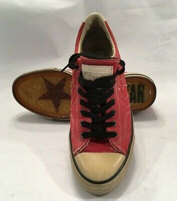 4ee1be0ea71a JOHN VARVATOS SNEAKER Star USA Men s Hattan Brown Leather  175 EUC ...
