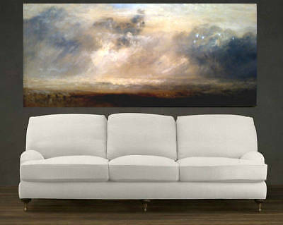 Huge Modern HandPainted Scenery Abstract Oil Painting Home Decor Wall On Canvas