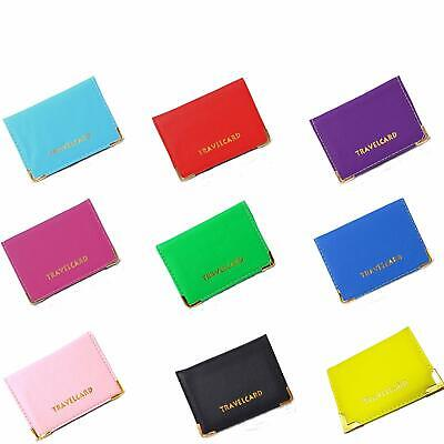 New Travel Card Bus Pass Rail Card Holder Oyster Card Holder