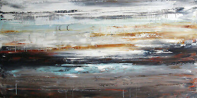 Huge Abstract Art HandPainted Oil Painting Modern Home Decor Canvas Wall Gifts