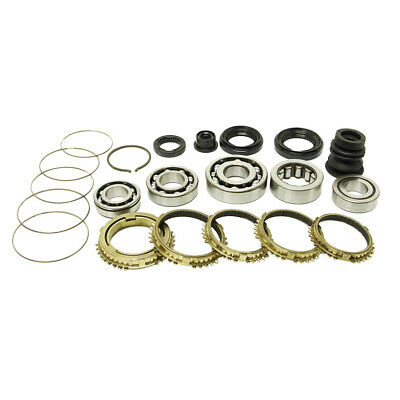 Synchrotech Carbon Rebuild Kit 89-91 For Honda Civic Crx Ef Ee Vt Sir A1 J1 Y2