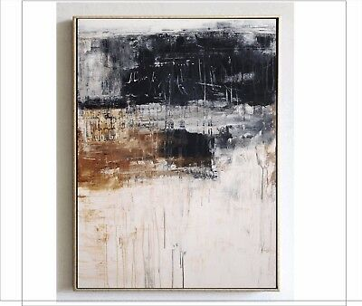 Modern Simple Art Abstract HandPainted Oil Painting Home Decor Wall On Canvas
