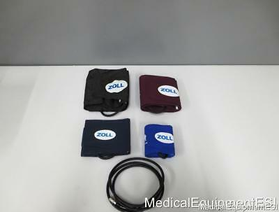 Zoll OEM NIBP 4 Cuff Set with Tubing - M & E Series