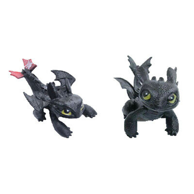 Movie How To Train Your Dragon PVC Action Figures Night Fury Toothless Kids Gift