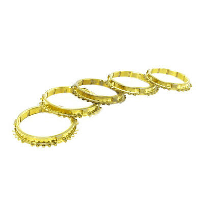Synchrotech For Honda Civic Crx B16 Cable Y1 S1 Brass Synchro Set 1St-5Th