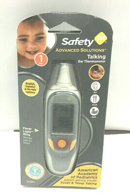 New! Safety 1st Advanced Solutions Talking Ear Thermometer       AI13-10