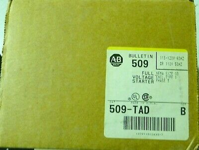 Allen Bradley 509-TAD Series B Voltage Starter Enclosure