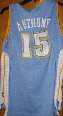 Youth s Reebok NBA Denver Nuggets CARMELO ANTHONY  15 Jersey Sz XL 18-20 c89000e40