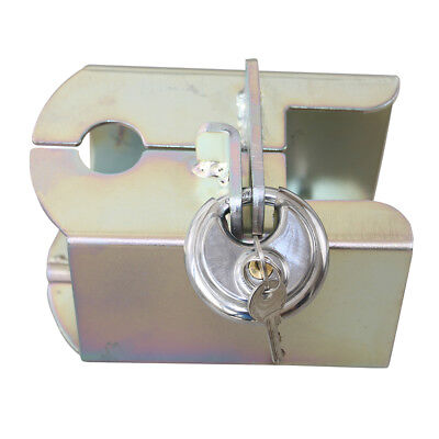 Heavy Duty Caravan Trailer Coupling Hitch Lock High Security Padlock Universal