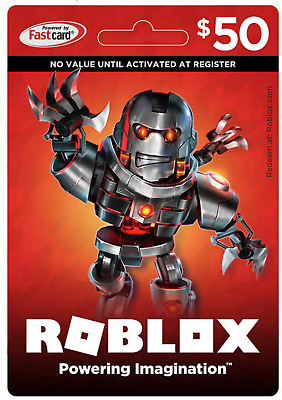 A Roblox Gift Card 50 Dollar Value - Email Delivery!