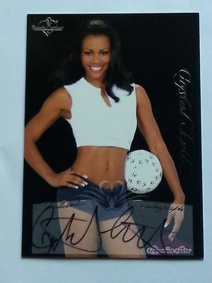 2005 Benchwarmer Signature Series Autograph Card #8 Crystal Lett (Bench Warmer)