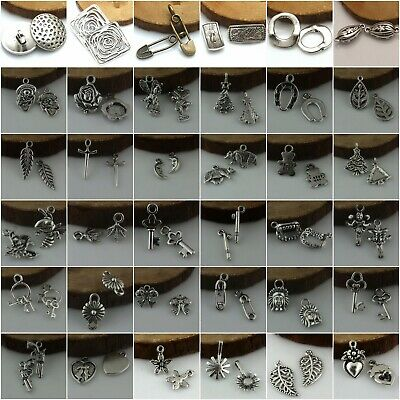 Wholesale Tibetan Silver Beautiful Jewelry Charms Pendant Carfts DIY Finding
