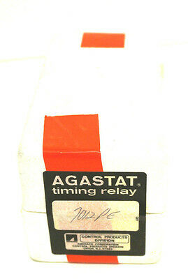 New Sealed Agastat 7012Pe Time Delay Relay