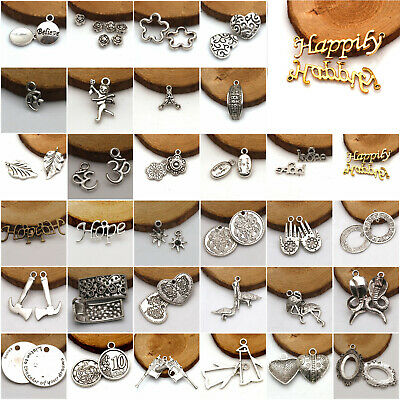Wholesale Antique Tibetan Silver Beautiful Jewelry Charms Pendant Carfts DIY