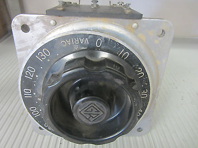 USED General Radio Company Type W20 Variable Autotransformer