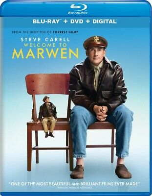 Welcome to Marwen NEW BLU-RAY + DVD + DIGITAL CODE PRE ORDER for 4/09/19!