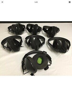 Microsoft XBOX ONE Stereo Headset 1610, 1626 FOR PARTS/REPAIR LOT OF 7 (READ)