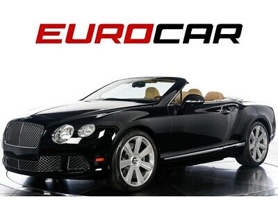 2013 Bentley Continental GT Convertible! STUNNING!! 2013 Bentley Continental GT Convertible - STUNNING, ONLY 14K MILES, PRISTINE!