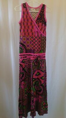 Vintage Youth Girls Baba One Peice Jumpsuit Pant Outfit Size Small Hippie Flair