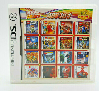 488 in 1 (Metal Slug 7 LEGO Series Harvest Moon: Frantic Farming) DS 2DS 3DS
