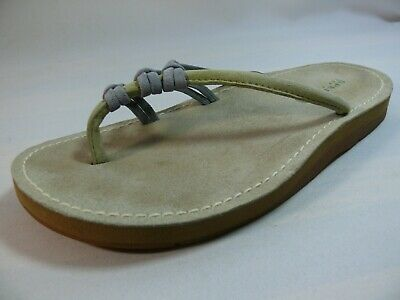b425d7935196 Women s SPERRY TOP-SIDER Size-8.5 Tan Leather Thong Flip Flop Sandal Non  Skid