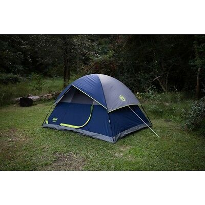 Camping Tent Shelter Hiking Outdoor Family Backyard Backpacking 4 Person Coleman