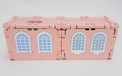 "POLLY POCKET Deluxe Mansion- Dream Builders"" 1999 Vintage Mattel Pink House   4"