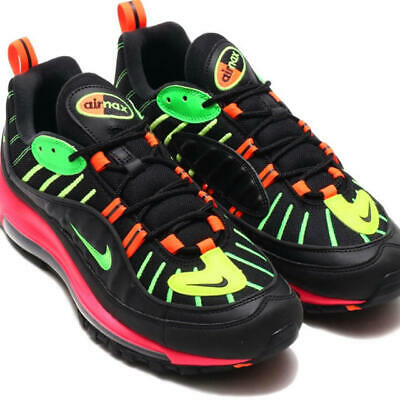 more photos 28232 7b3a9 NIKE AIR MAX98 NEON Men s shoes Sneakers with box New Size 8,9