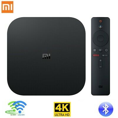 Xiaomi Mi Box S 4K HDR Smart Android TV International Streaming HD Media Player