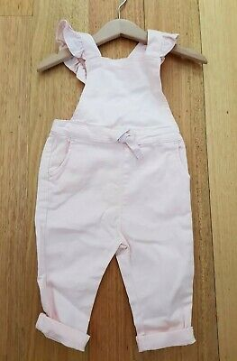BNWT Country Road Denim Ruffle Romper/Overalls- Size 12-18 Months RRP $59.95