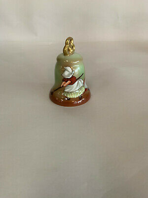 "Sun-Bonnet Babies 'Thursday ""Scrubbing""' Limited Edition Bell"