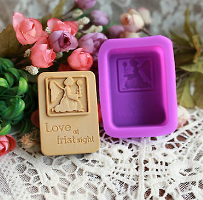 Angel Flexible Silicone Handmade Craft DIY Artifact Candy Soap Mold 70ml #B3V GY