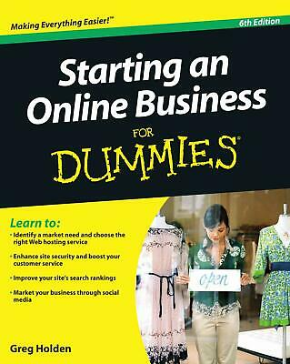 Starting an Online Business🔥For Dummies 6th edition🔥Not Physical book⭐PDF⭐2019