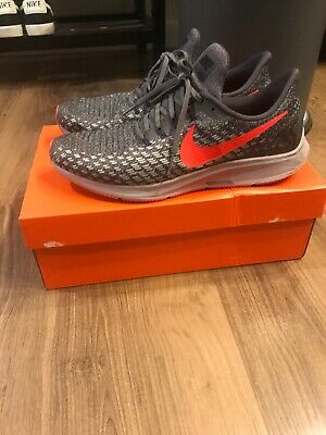 online store 1ff75 1718c NIKE AIR ZOOM Pegasus 35 Thunder Grey Bright Crimson Mens Running Shoe Size  10