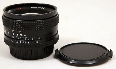 Carl Zeiss Planar T* 50mm f/1.7 Standard Lens for Contax/Yashica 35mmSLR Cameras