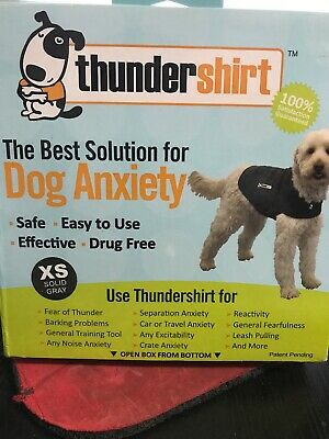 Thundershirt for dogs - HGXS-T01 Dog Anxiety Shirt XS Heather Grey