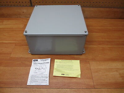 Hoffman A-1212SC Junction Box 12 X 12 X 6 *NEW* Electrical Enclosure