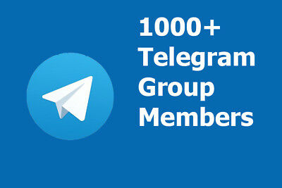 Add 500+ real members + gift to Telegram Group for $5