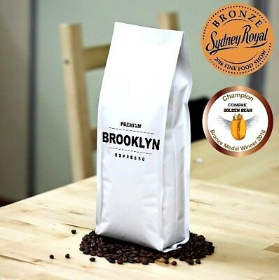 COFFEE BEANS FRESH ROASTED Medium Roast Espresso COLOMBIAN ROAST - AWARD WINNING