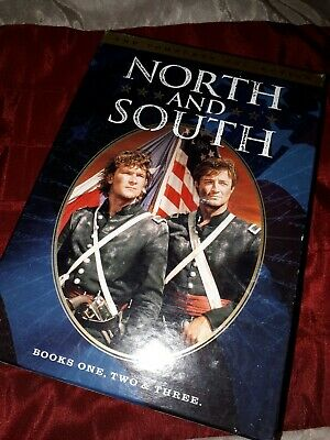 North and South - The Complete Collection DVD, 2004, 5-Disc Set Patrick Swayze