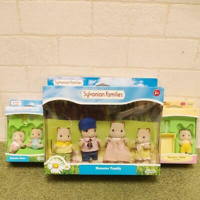 Sylvanian Families Calico Critters Hamster Family Twins Baby Doll 7 Set Epoch