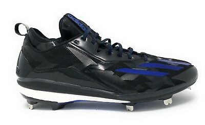 wholesale dealer b08cb 40bca Adidas Boost Icon 2 2.0 Metal Men s Baseball Cleats Black Blue Size 13.5