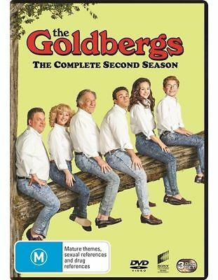 The Goldbergs : Season 2 (DVD, 3-Disc Set) NEW