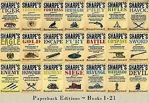 The RICHARD SHARPE Series Bernard Cornwell 24 Audiobook Collection(Mp3,Download)