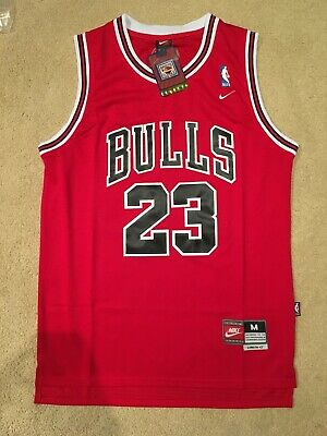 KIDS YOUTH Michael Jordan #23 Red Chicago Bulls Jersey